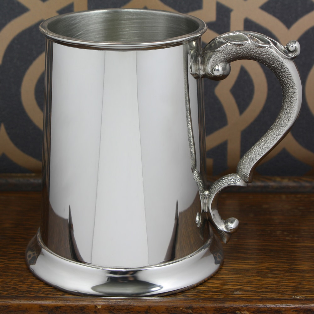 Image of 1 Pint Pewter Classic Personalised Tankard