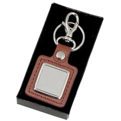 Crown Leather Solid Keyring 1 Locksmith in Stirling