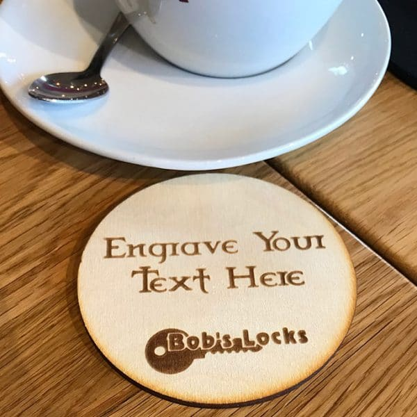 Image of Fully Personalised Wooden Coaster