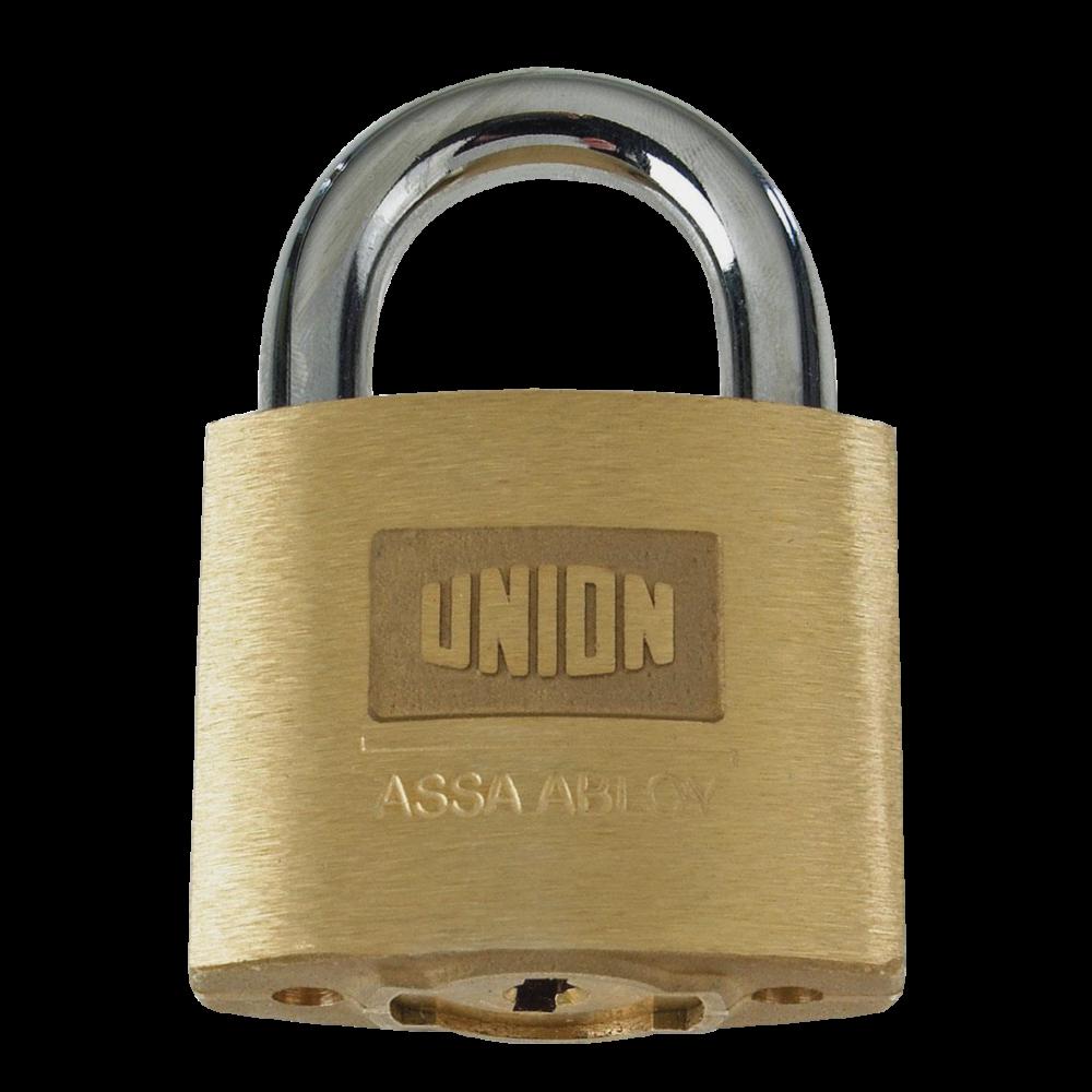 UNION C-Series 1K42 AVA Brass Open Shackle Padlock 1 Locksmith in Stirling