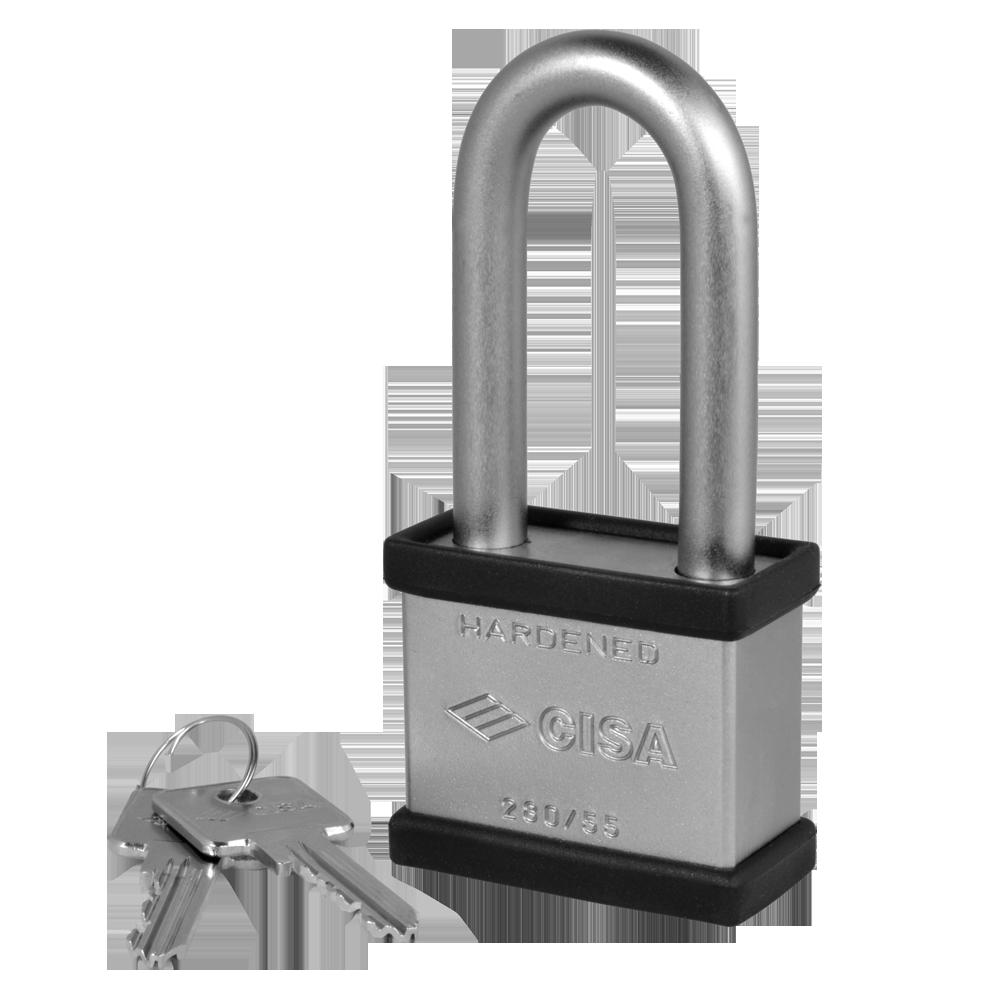 CISA 28050 & 28350 LIM Steel Long Shackle Padlocks 1 Locksmith in Stirling