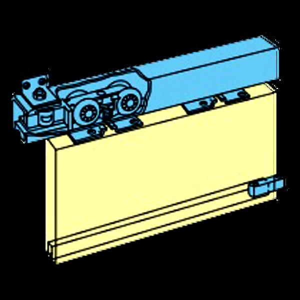 HENDERSON Husky Folding Track Sliding Door Gear (Fitting Only) 1 Locksmith in Stirling