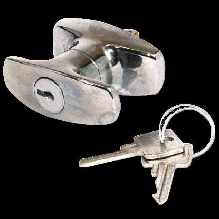 L&F 1601 & 1618 Small `T` Garage Door Handle 1 Locksmith in Stirling