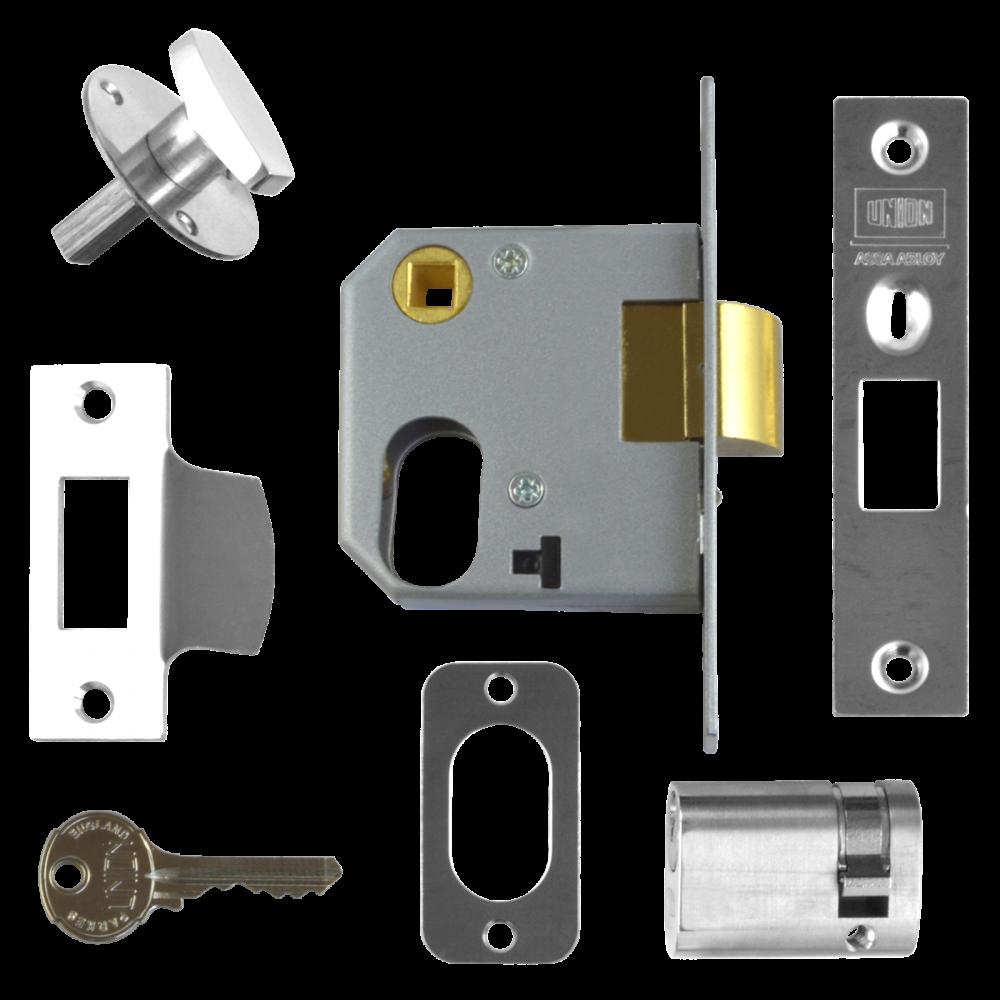 UNION 2332 Oval Nightlatch Case 1 Locksmith in Stirling