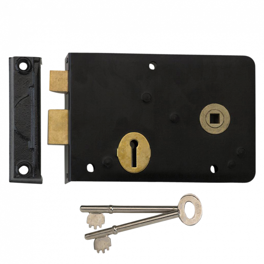 UNION 1439 3 Lever Double Handed Rimlock 1 Locksmith in Stirling