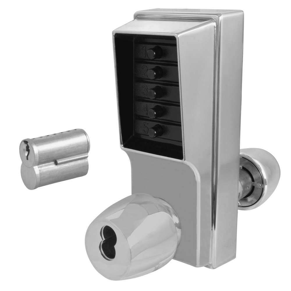 DORMAKABA Series 1000 1041B Knob Operated Digital Lock With Key Override & Passage Set 1 Locksmith in Stirling