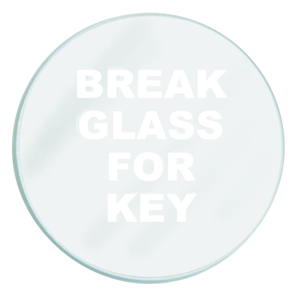 GLENDENNING Spare Glass To Suit Emergency Key Box 1 Locksmith in Stirling