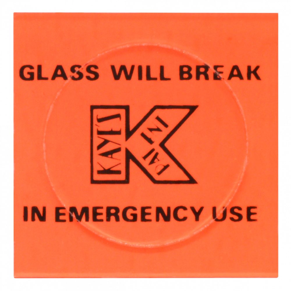 PICKERSGILL KAYE L8130-060B Spare Glass For Push Pad Style 1 Locksmith in Stirling