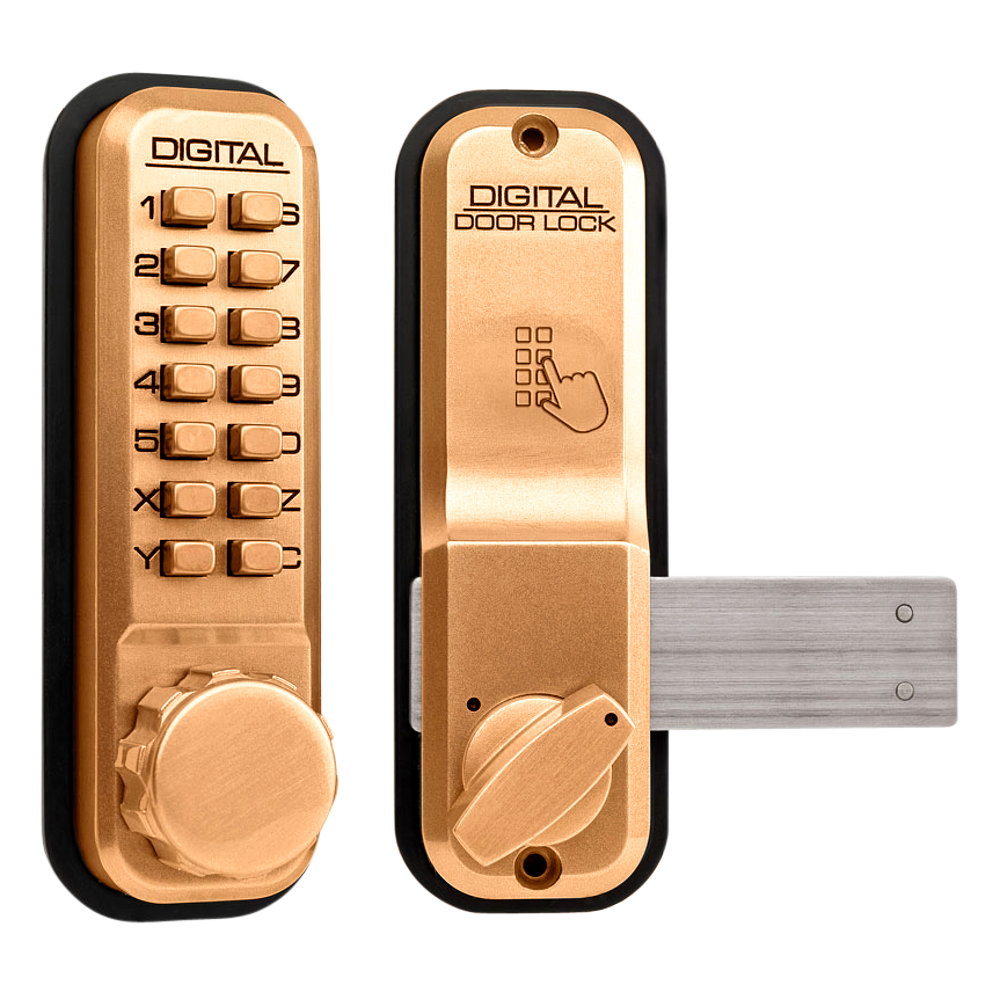 LOCKEY 2200 Series Digital Lock With Rim Dead Bolt 1 Locksmith in Stirling
