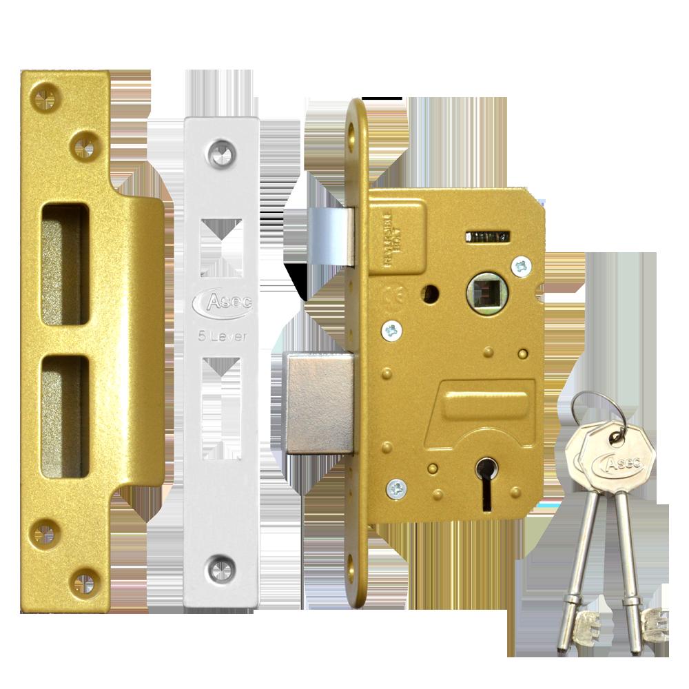 ASEC 5 Lever Sashlock 1 Locksmith in Stirling