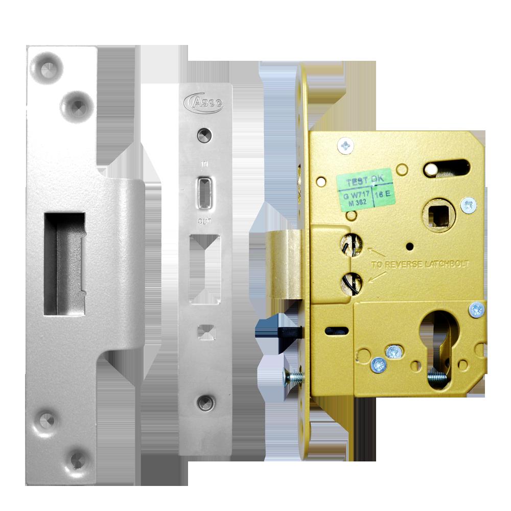 ASEC Euro / Oval Nightlatch Case 1 Locksmith in Stirling
