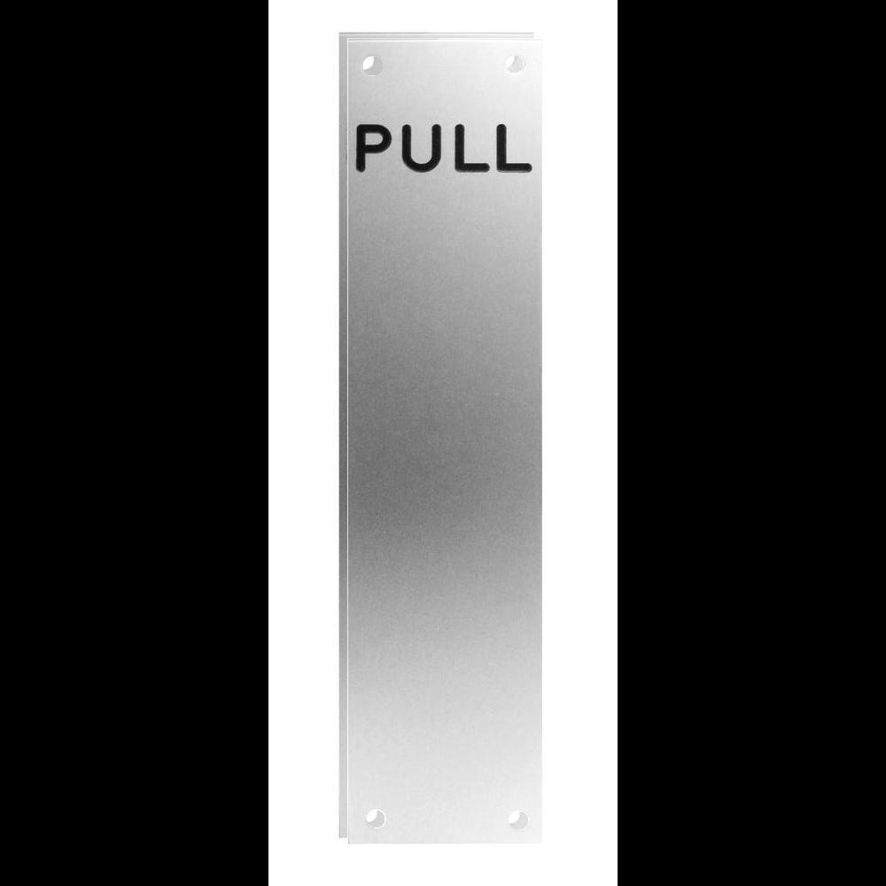 ASEC 75mm Wide Aluminium `Pull` Finger Plate 1 Locksmith in Stirling