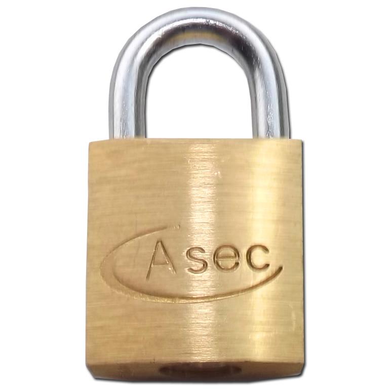 ASEC KD Open Shackle Brass Padlock 1 Locksmith in Stirling