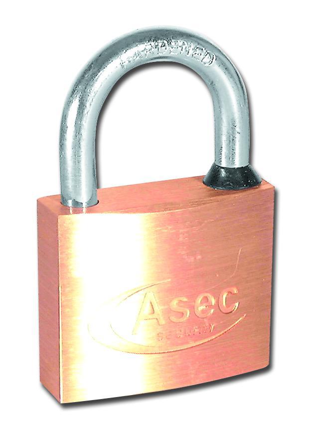 ASEC MK Open Shackle Brass Padlock 1 Locksmith in Stirling