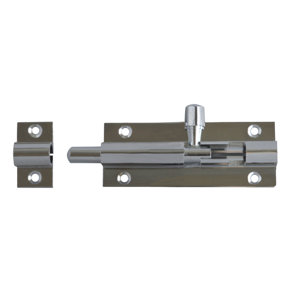 ASEC Chrome 25mm Wide Straight Barrel Bolt 1 Locksmith in Stirling
