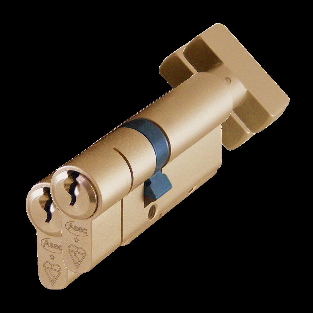 ASEC Kite BS 1 Star Kitemarked Euro Key & Turn Cylinder 1 Locksmith in Stirling