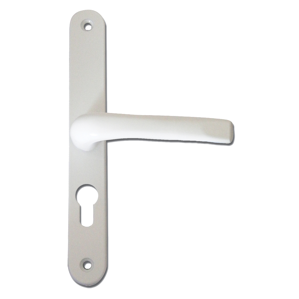 ASEC 70 Lever/Lever UPVC Furniture - 270mm Backplate 1 Locksmith in Stirling