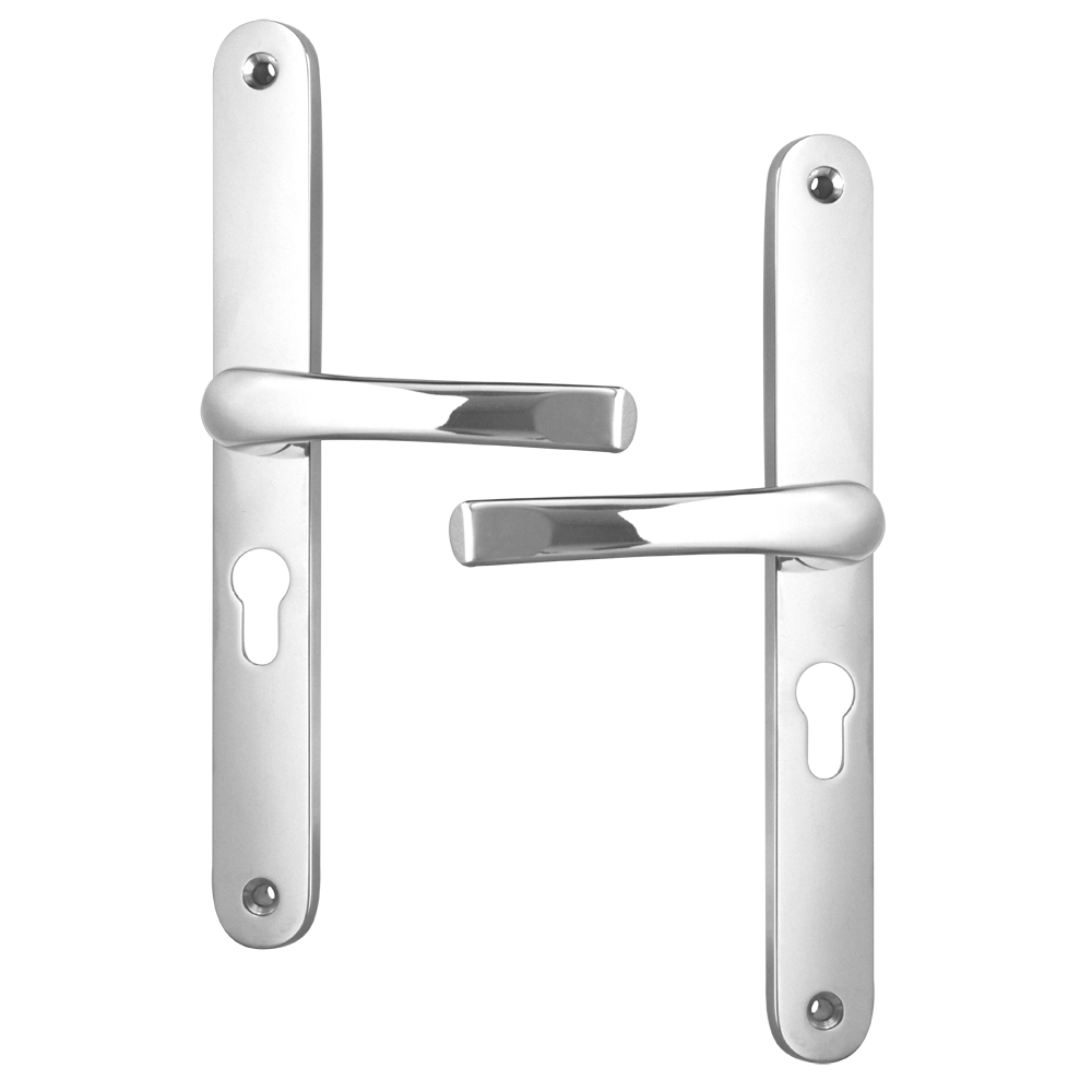 ASEC 48 Lever/Lever UPVC Furniture - 270mm Backplate 1 Locksmith in Stirling