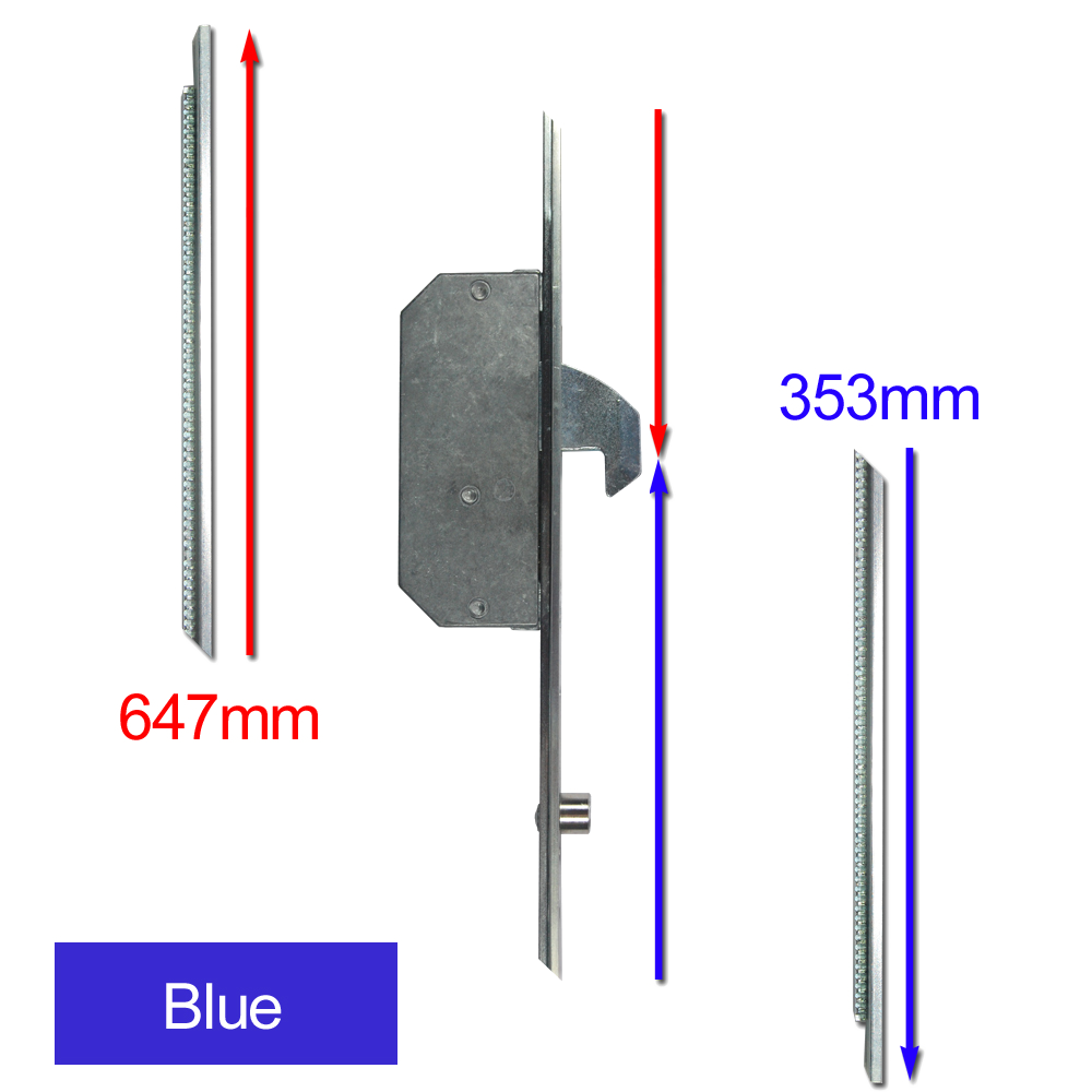 ASEC Modular Repair Lock Locking Point Extensions (UPVC Door) - 2 Hook & 2 Roller 1 Locksmith in Stirling