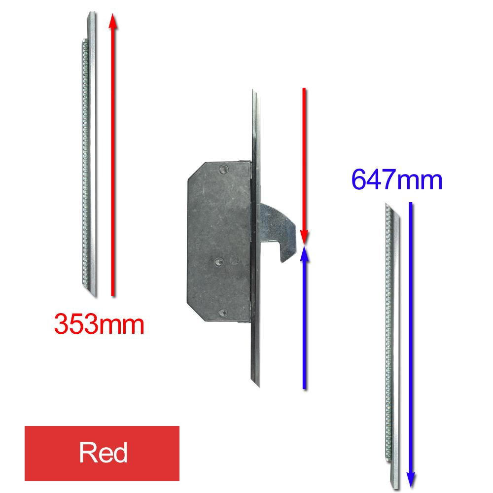 ASEC Modular Repair Lock Locking Point Extensions (UPVC Door) - 2 Hook 1 Locksmith in Stirling