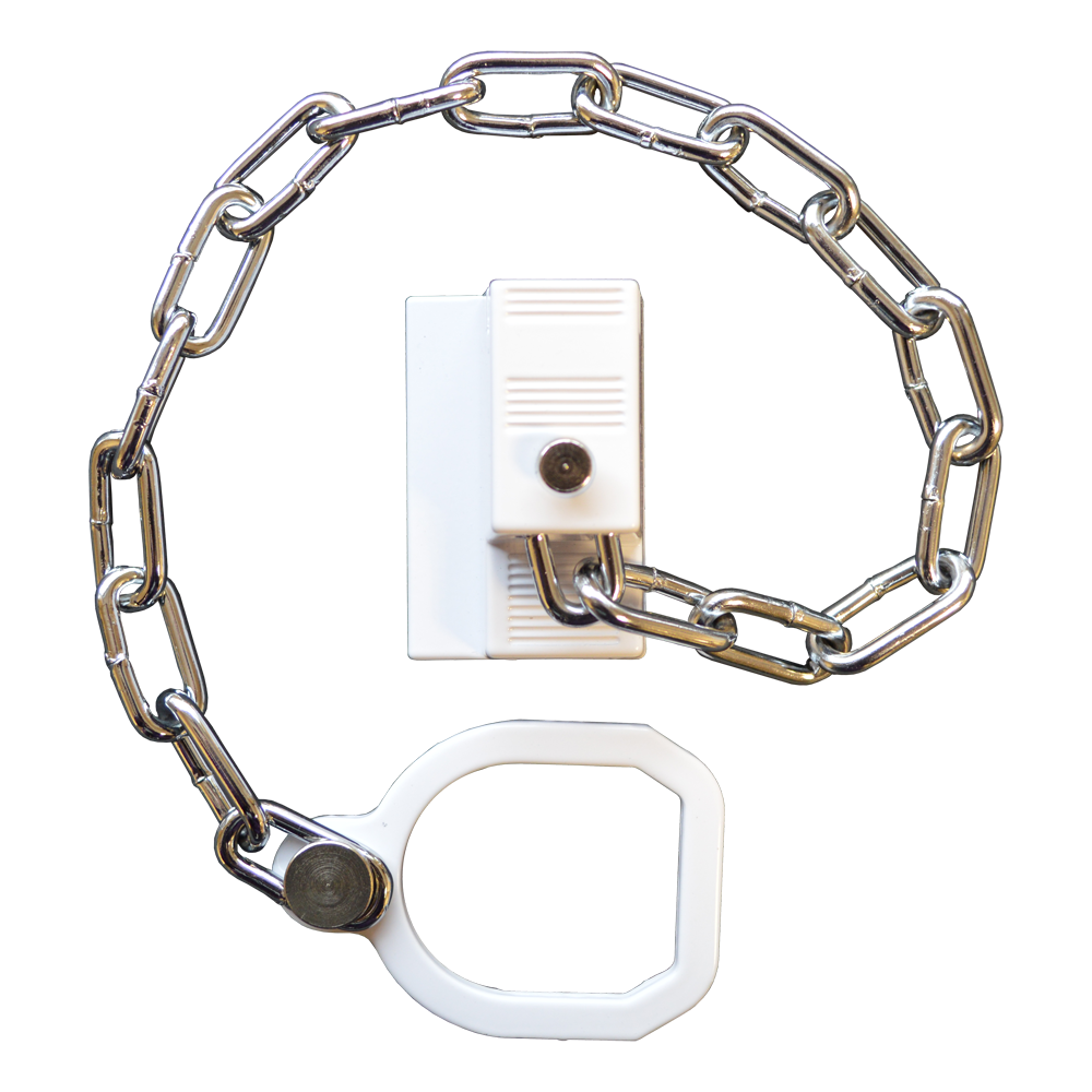 ASEC UPVC Door Chain Restrictor With Ring 1 Locksmith in Stirling