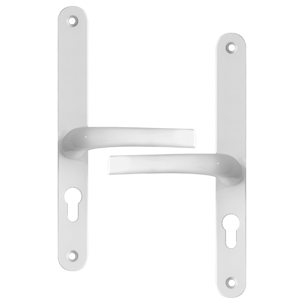 ASEC 48/87 Lever/Lever UPVC Furniture - 270mm Backplate 1 Locksmith in Stirling