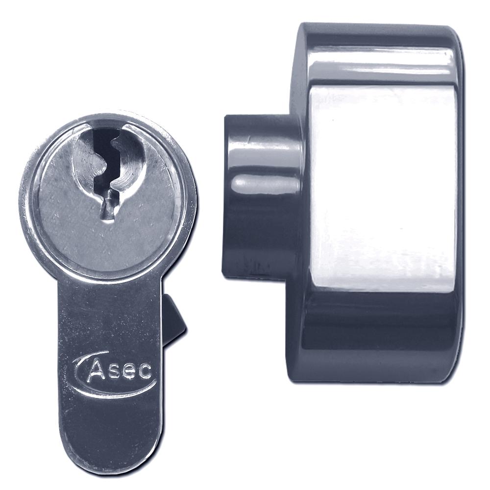 ASEC 5-Pin Euro Key & Turn Cylinder 1 Locksmith in Stirling
