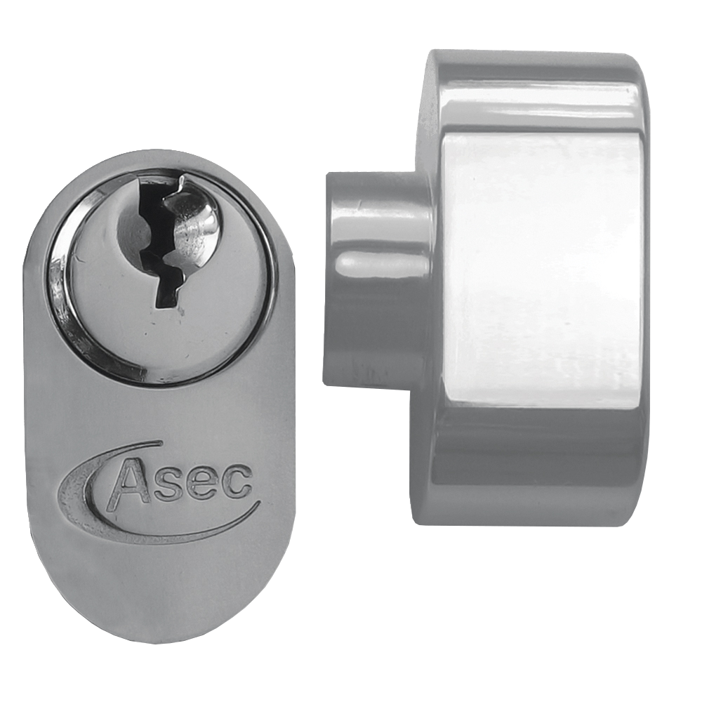 ASEC 5-Pin Oval Key & Turn Cylinder 1 Locksmith in Stirling