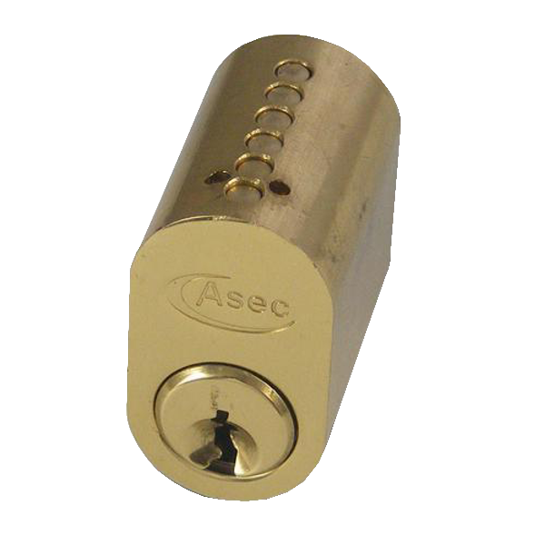 ASEC 6-Pin Scandinavian Oval External Cylinder 1 Locksmith in Stirling