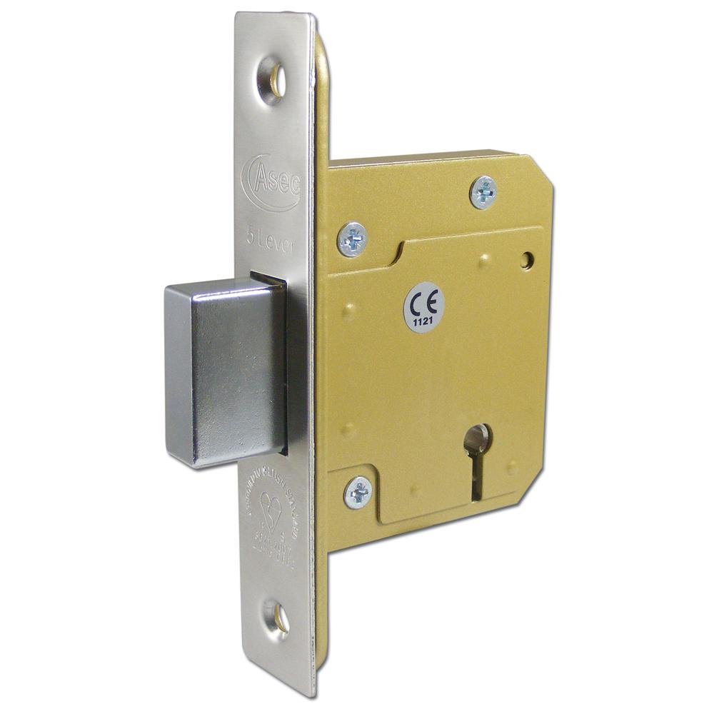 ASEC BS 5 Lever British Standard Deadlock 1 Locksmith in Stirling