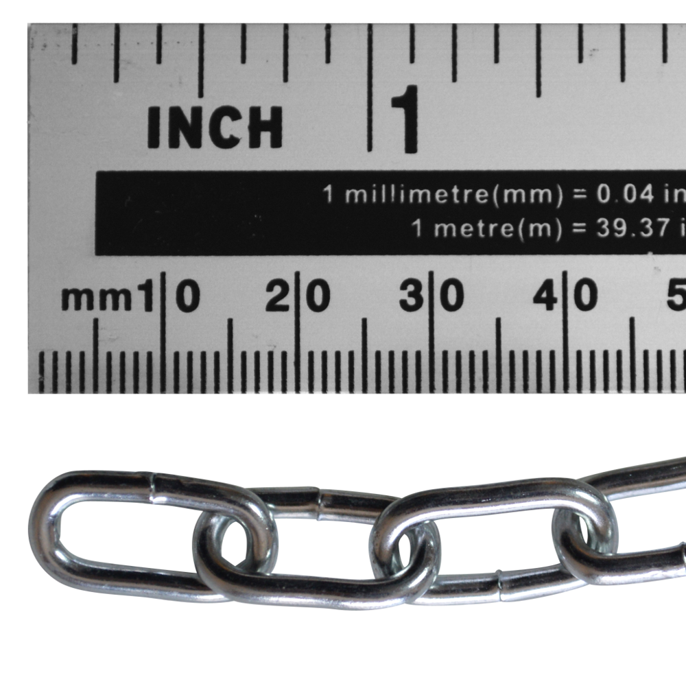 ASEC Steel Welded Chain Silver 2.5m Length 1 Locksmith in Stirling