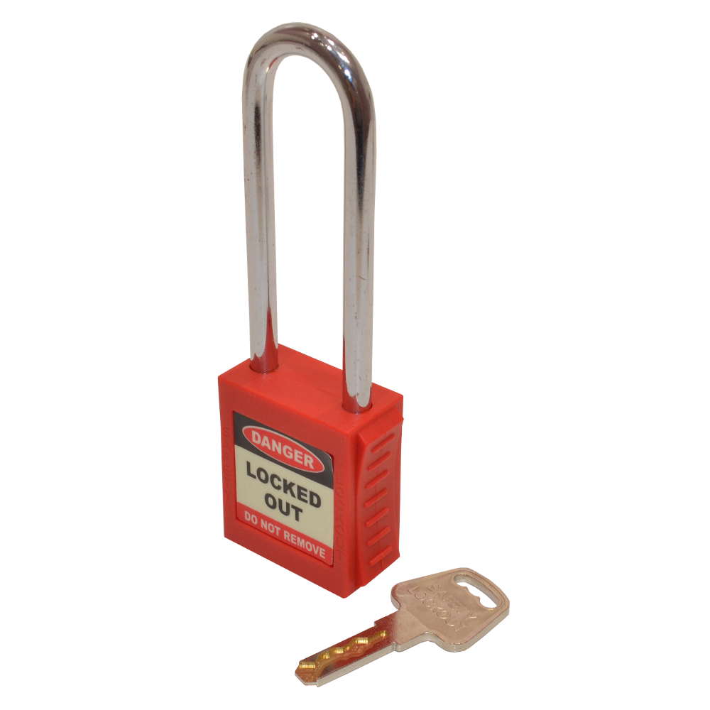 ASEC Safety Lockout Tagout Padlock Long Shackle 1 Locksmith in Stirling