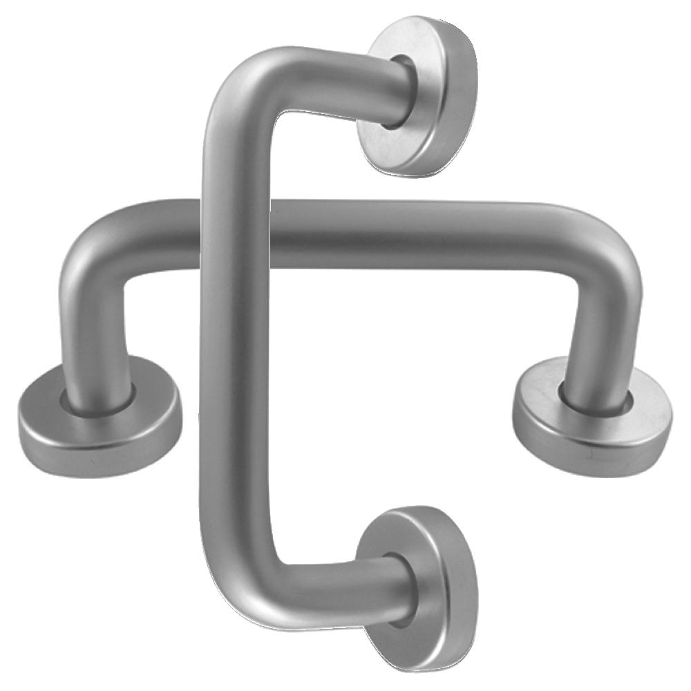 DORTREND 20RCR2 Bolt Fix Round Rose Aluminium Pull Handle 1 Locksmith in Stirling