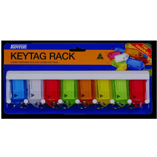 KEVRON ID6 Key Tag Rack 1 Locksmith in Stirling