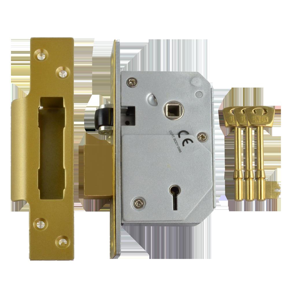 UNION C-Series 3K74E BS 5 Lever Sashlock 1 Locksmith in Stirling