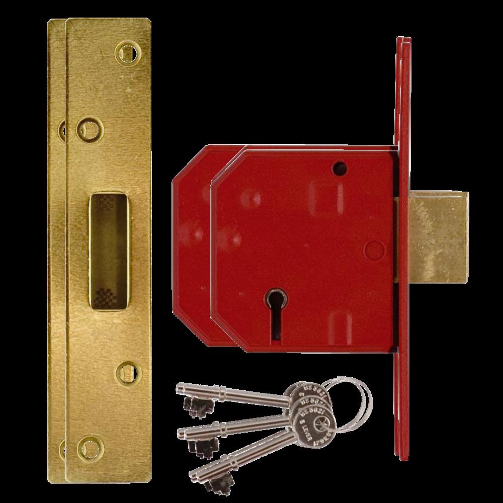 UNION 2134E BS 5 Lever Deadlock 1 Locksmith in Stirling