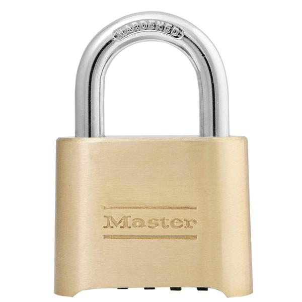 MASTER LOCK 175 Brass Open Shackle Combination Padlock 1 Locksmith in Stirling
