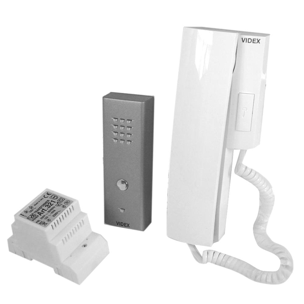 VIDEX SLK Audio 1 Way Intercom Kit Slim Surface 1 Locksmith in Stirling