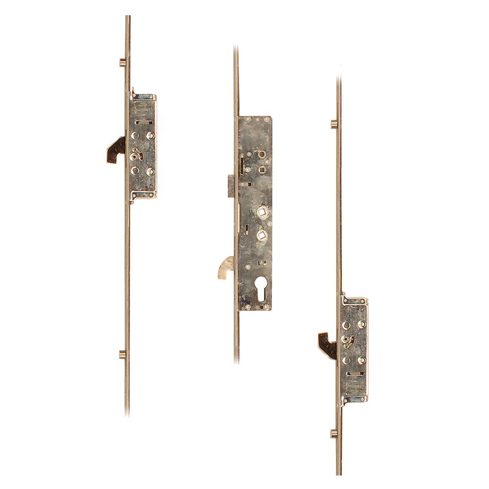 SAFEWARE Lever Operated Latch & Hookbolt Twin Spindle - 2 Hook 4 Roller 1 Locksmith in Stirling