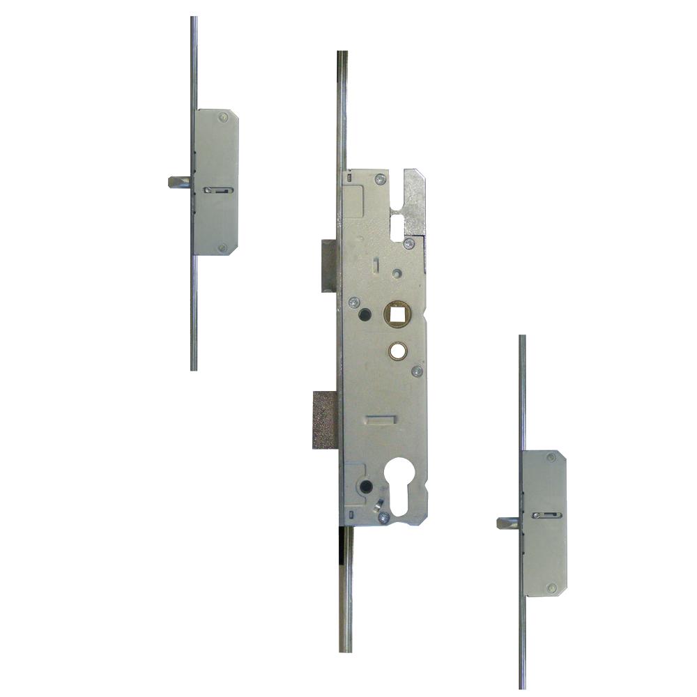 KFV Lever Operated Latch & Deadbolt Long Version - 2 Round Bolt 1 Locksmith in Stirling