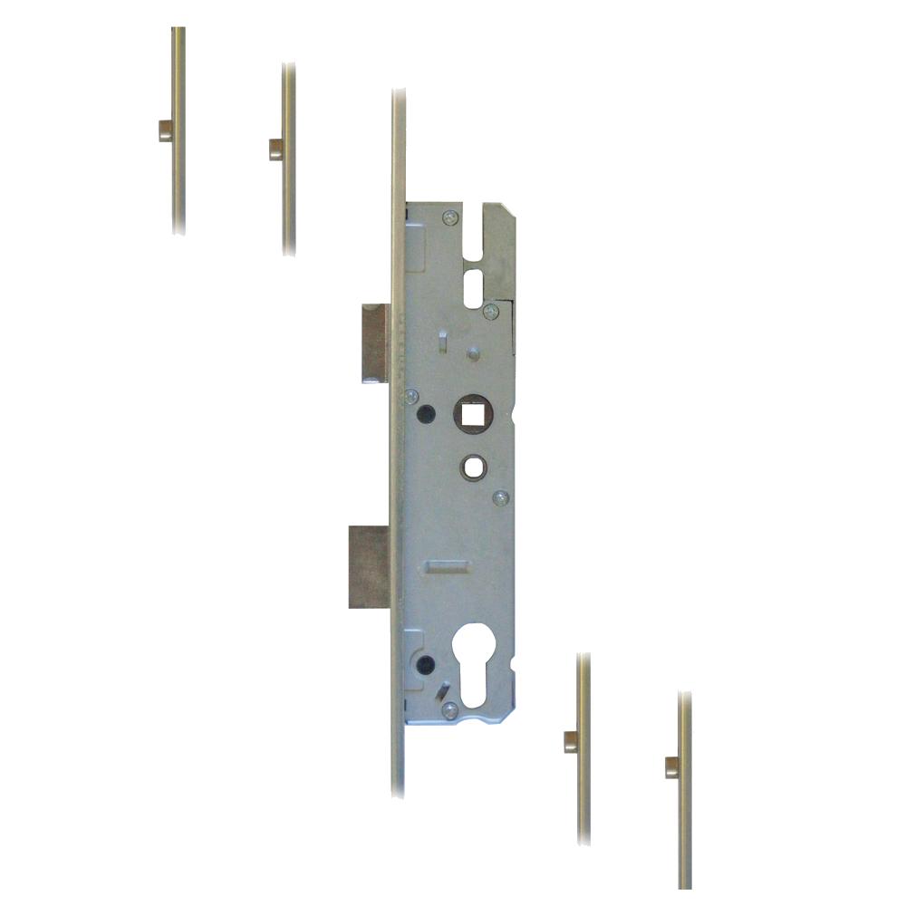 KFV Lever Operated Latch & Deadbolt `U` Rail - 4 Roller 1 Locksmith in Stirling