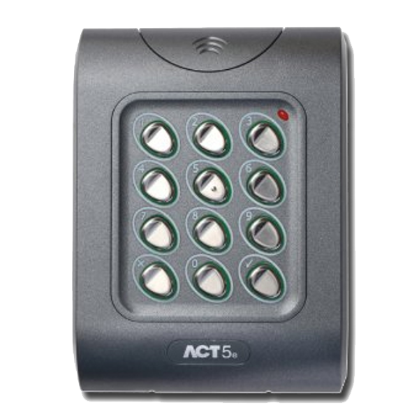 ACT ACT5e Keypad 1 Locksmith in Stirling