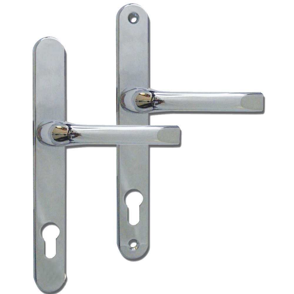 ASEC 92 Lever/Lever UPVC Furniture - 240mm Backplate 1 Locksmith in Stirling