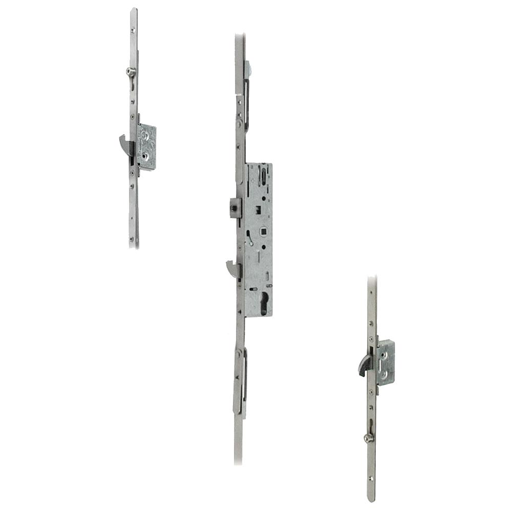 DOORMASTER Professional Lever Operated Latch & Hook - 2 Adjustable Hooks 2 Rollers (UPVC Door) 1 Locksmith in Stirling