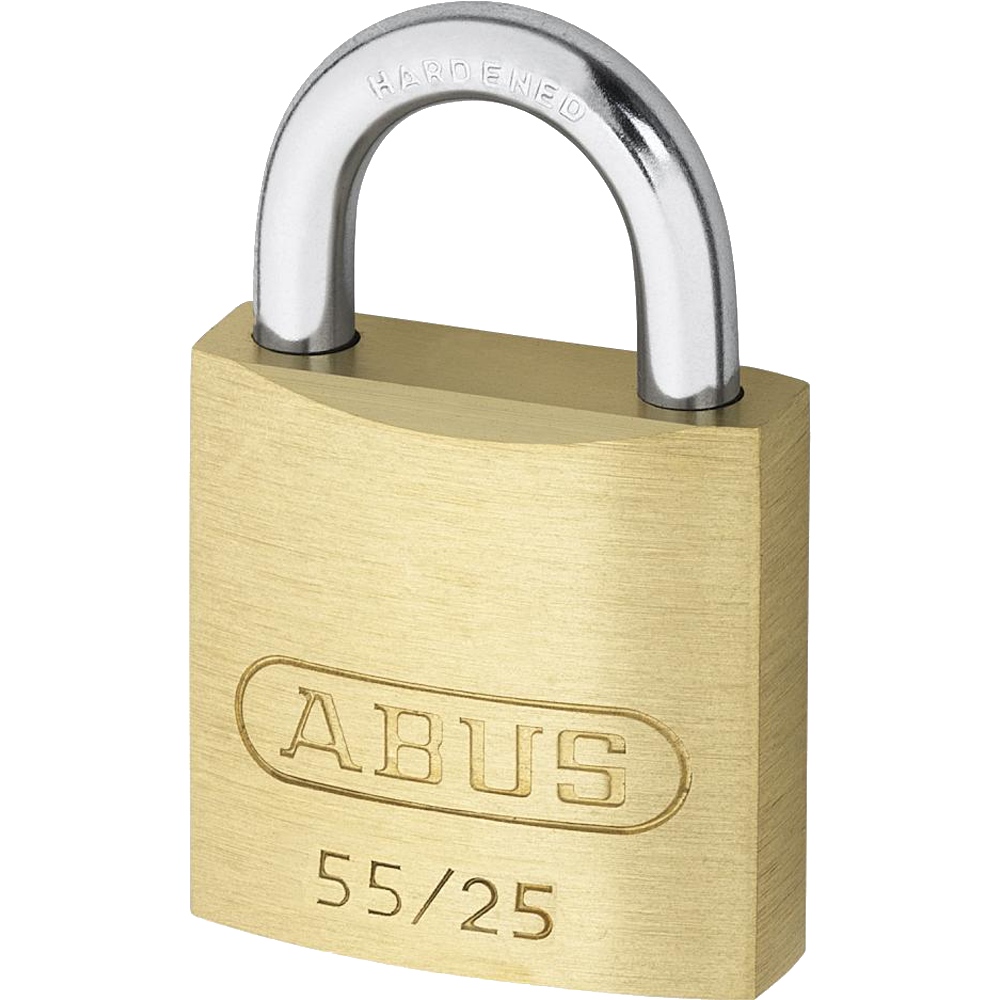 ABUS 55 Series Brass Open Shackle Padlock 1 Locksmith in Stirling