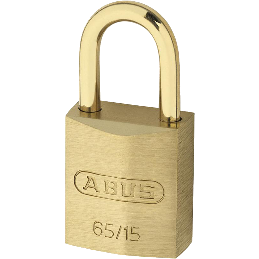 ABUS 65 Series Brass Open Shackle Padlock 1 Locksmith in Stirling