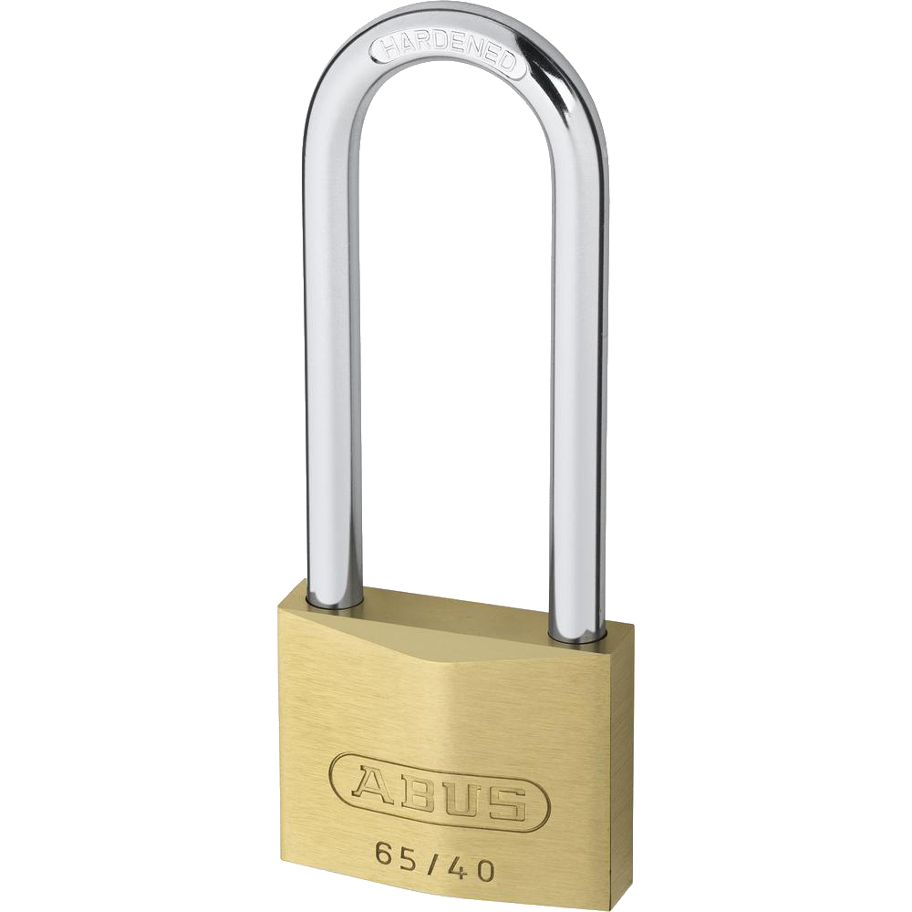 ABUS 65 Series Brass Long Shackle Padlock 1 Locksmith in Stirling
