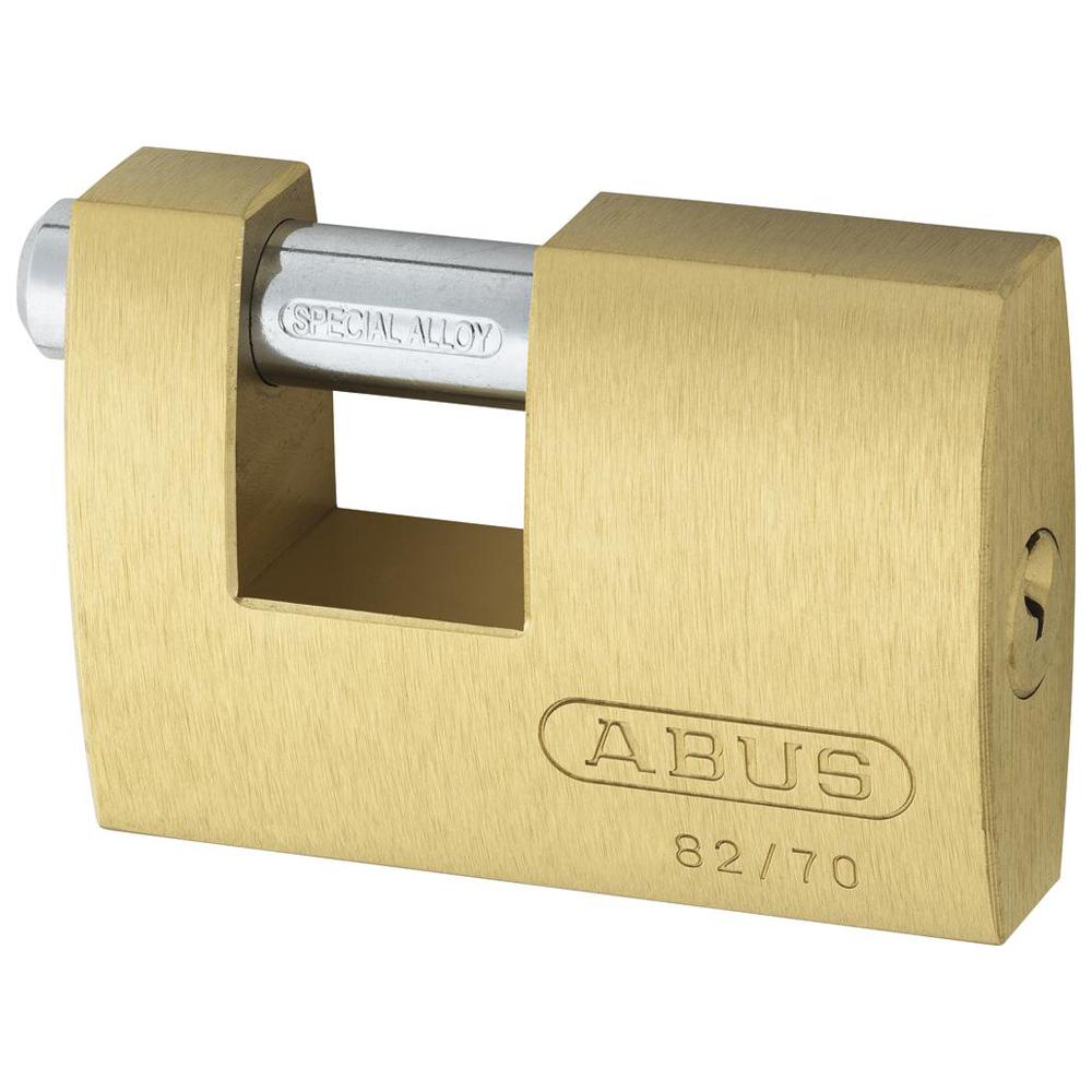 ABUS 82 Series Brass Sliding Shackle Shutter Padlock 1 Locksmith in Stirling
