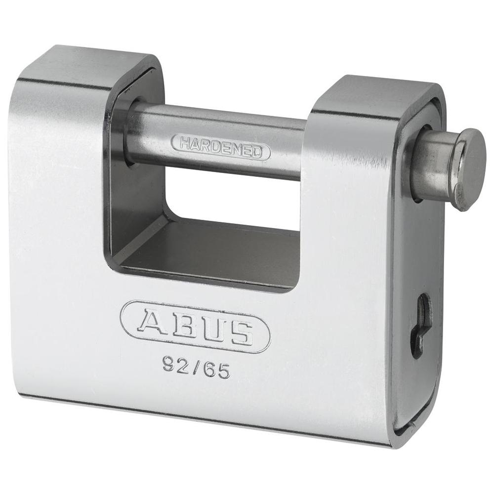 ABUS 92 Series Steel Clad Brass Sliding Shackle Shutter Padlock 1 Locksmith in Stirling