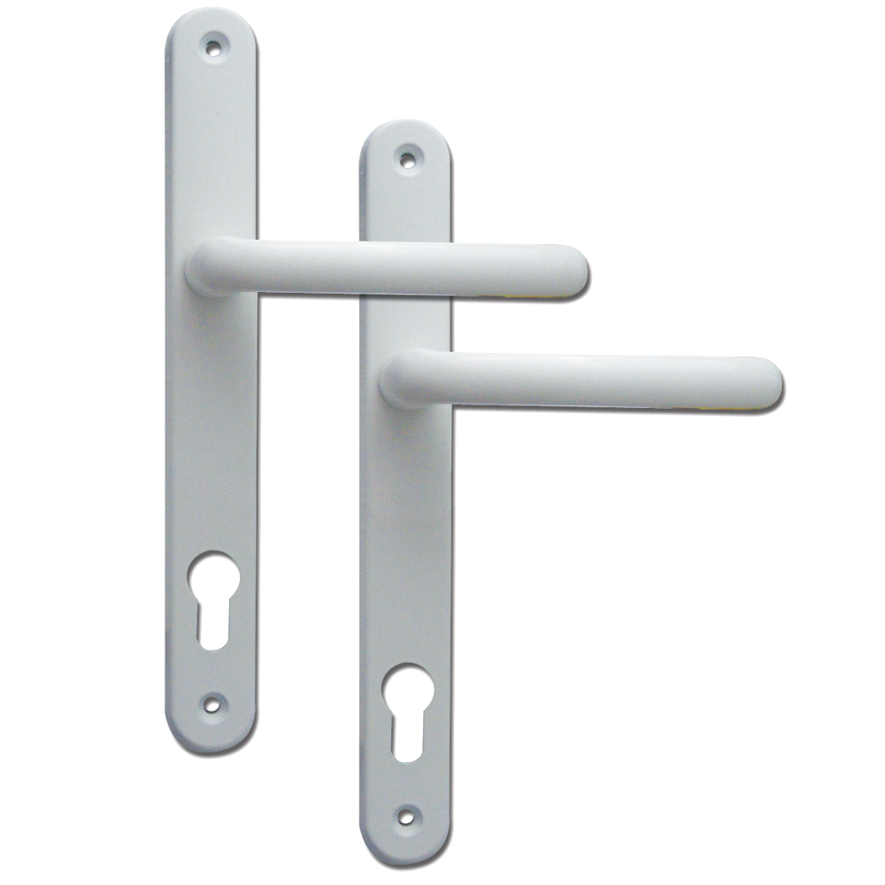 FAB & FIX Balmoral 92PZ Lever/Lever UPVC Furniture - 265mm Fixings 1 Locksmith in Stirling